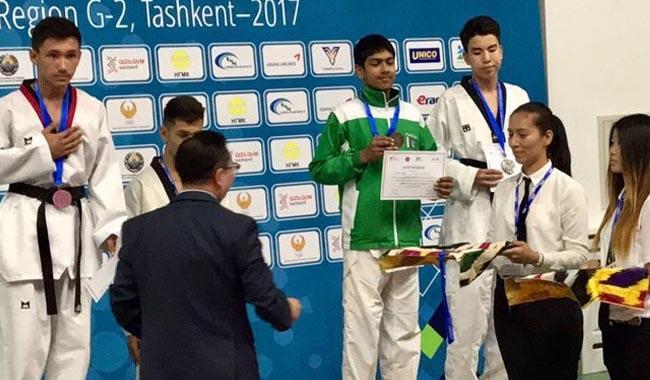 Pakistani black belt wins bronze medal in Taekwondo