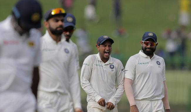 Pandya, Kuldeep put India on top in third Test