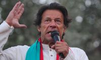 Political leadership is scared, army chief has to give statement, says Imran