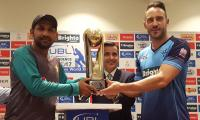 Big time cricket returns to Pakistan: First match today