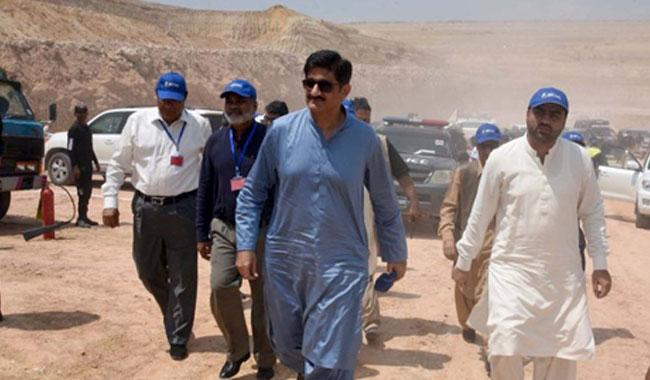 Thar coal project to start power generation in 2019: Sindh CM
