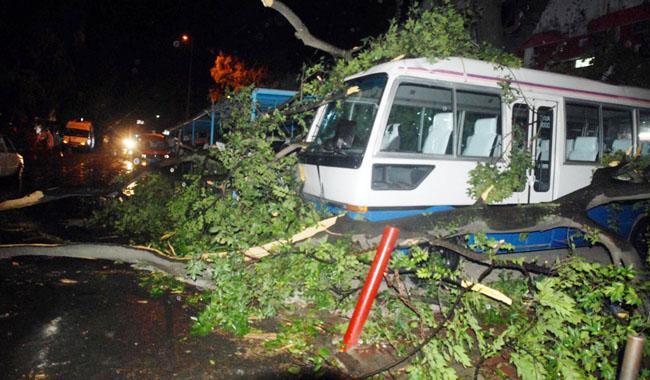 Weather experts claim mini-tornado hit Islamabad on Sunday