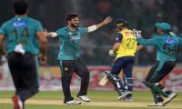 Pakistan celebrate international revival with win