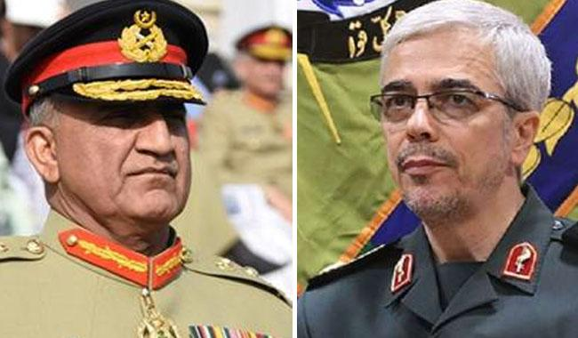 Pak, Iran army chiefs seek Muslim world action