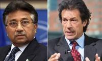 Musharraf, Imran least bothered about court processes