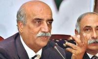 Imran eats his own words by seeking MQM votes: Khursheed