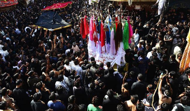 Authorities foil 10th Muharram procession
