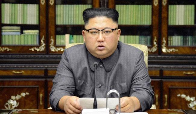 Kim praises nuke program amid Trump tweet