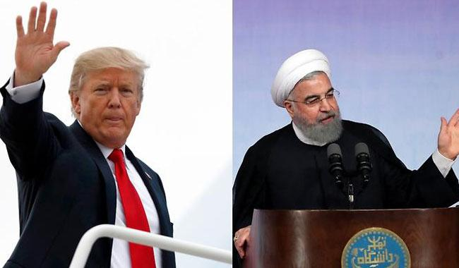 Trump says Iran deal decision coming 'very shortly'