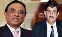 Zardari stops Sindh government from giving itself salary raise