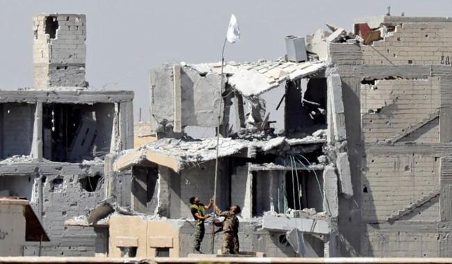 Islamic State cleared from Syria's Raqqa