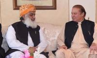 Nawaz, Shahbaz, Fazl reject calls for early elections