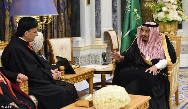 Saudi king hosts Lebanese patriarch