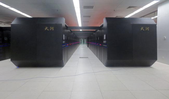 China has high performance supercomputers