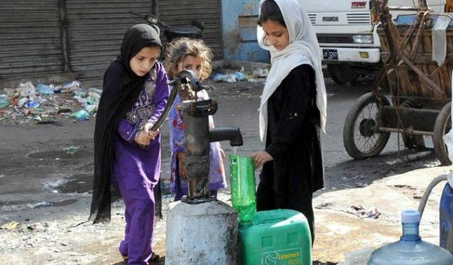'91 per cent of city's water supply unfit for human consumption'