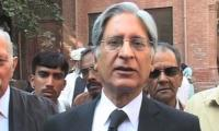 All responsible as parliament passed electoral bill: Aitzaz