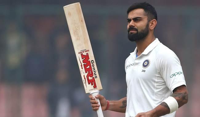 Kohli jumps to second spot in Test rankings