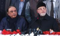 Zardari rules out third force intervention