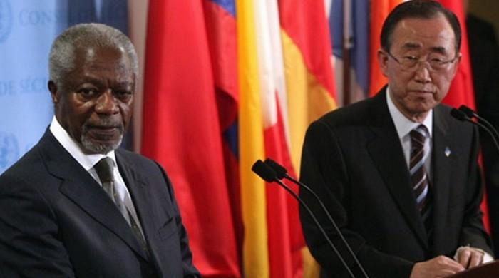 Leaders needed to fix global 'mess': Annan