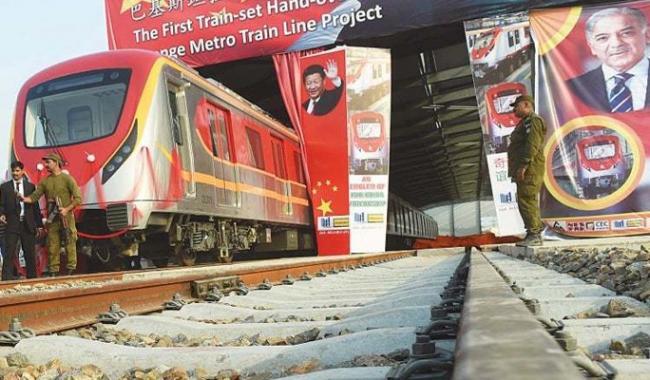 Work on Orange train project should continue 24/7: Shahbaz