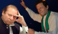 Not double but different standards visible in Nawaz, Imran verdicts: lawyers