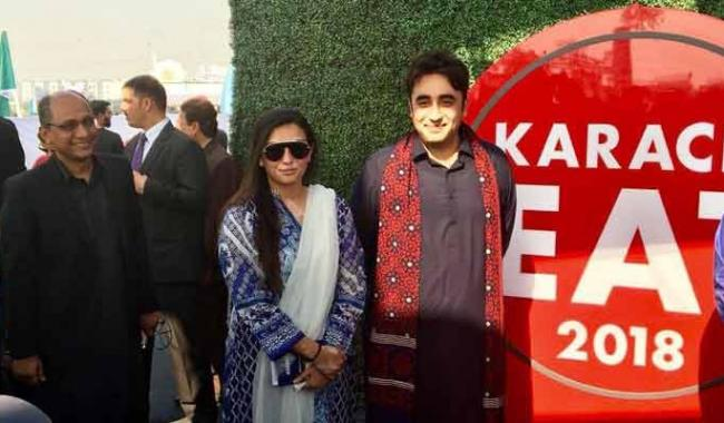 Karachi Eat festival an opportunity to enjoy city's peaceful environment: Bilawal