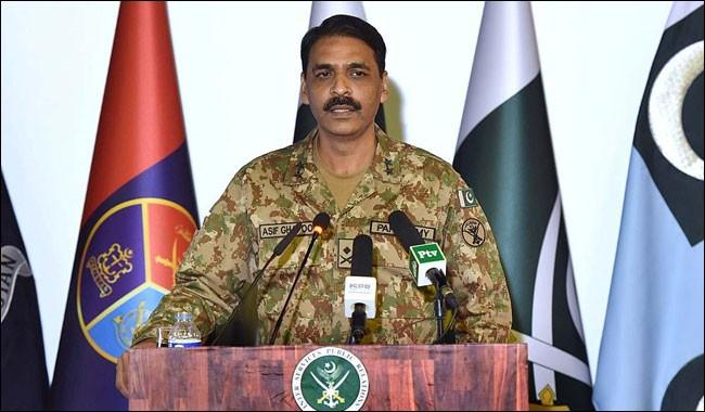 Nukes meant to neutralise threat from east: DG ISPR