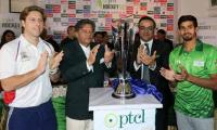 All set for World XI-Pakistan match as PHF unveils trophy