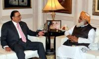 Zardari, Fazl discuss cooperation for Senate polls
