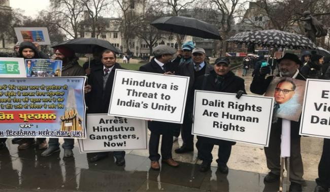 Dalits march in London against atrocities in India