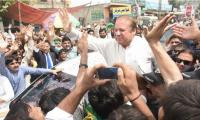 Strong wave in support of Nawaz courses through country