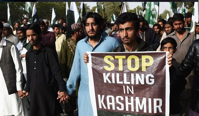 Kashmiris petition Pak, India PMs to cease fire, hold talks