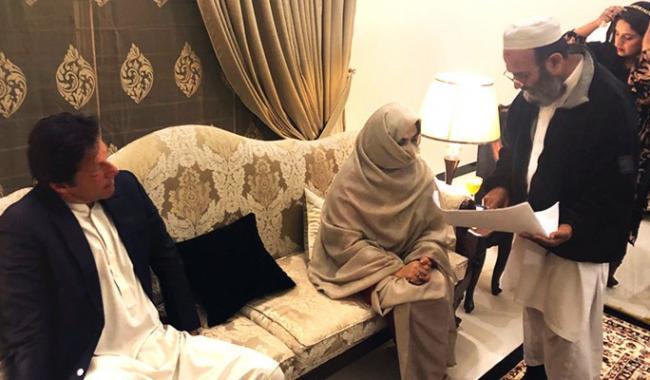 Third innings: Cricketer-politician Imran Khan marries spiritual guide