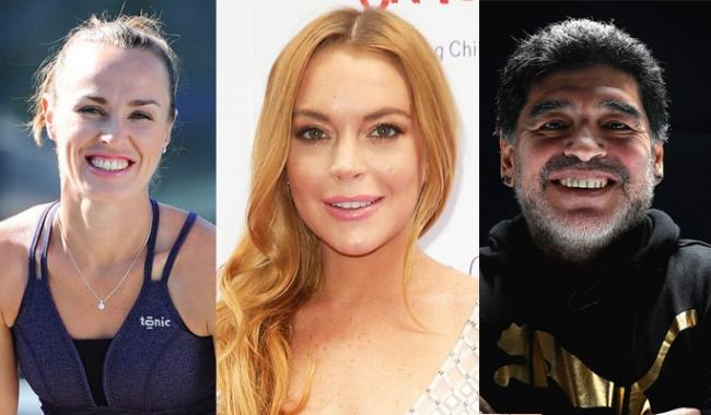 Lindsay Lohan, Diego Maradona, Martina Hingis to attend Pakistan Day event
