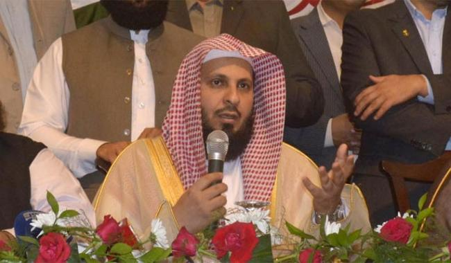 I consider Kashmir as part of Pakistan, says Imam-e-Kaaba