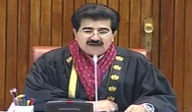 Meer Sadiq Khan Sanjrani is the youngest-ever Senate Chairman