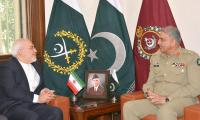 Iranian FM, Kyrgyz armed forces chief meet COAS