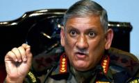 LoC fire to cease on our terms: Indian Army chief