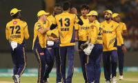 Zalmi edge Gladiators by one run to stay on course in HBL PSL