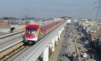 'Trial run of Lahore's Orange Train soon'