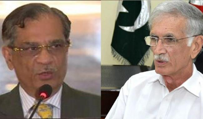 All words no work in KP, says CJP