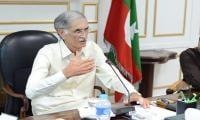 Khattak mulls over dissolving KP Assembly?