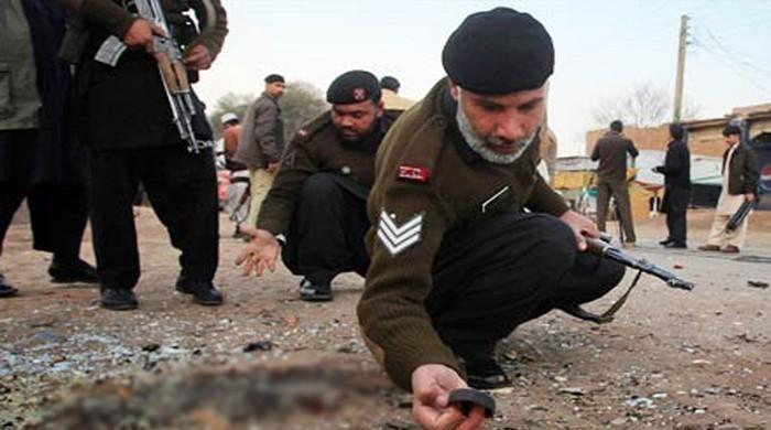 14 injured as suicide bomber hits FC convoy in Nowshera
