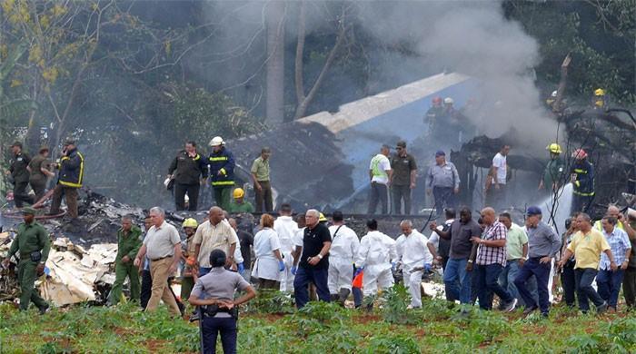 Cuba begins mourning for airliner crash victims