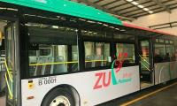 Peshawar: No BRT inauguration today as bus prototype stuck at Sust