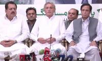 PTI team meets Chaudhrys: Shahbaz destroyed LBs, says Elahi
