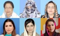 Women who made it to NA mostly related to politicians