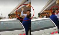 PTI MPA thrashes citizen in Karachi