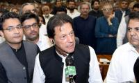 Imran Khan needs to raise his words, not his voice
