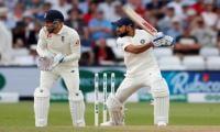 Kohli and Rahane fight back for India in third Test